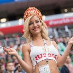 Улыбка Натальи Немчиновой (самой красивой болельщицы России на ЧМ-2018)